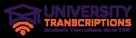 University Transcriptions